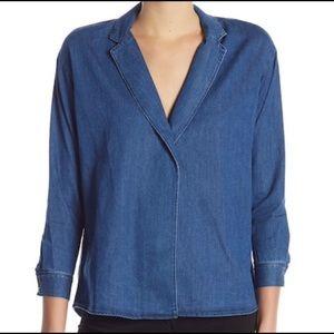 3x1 Moxy Notch Collar Shirt S